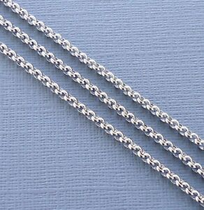 3 Ft Rolo opened Link ChainGunmetal  6 mm Findings for Jewelry making  DIY
