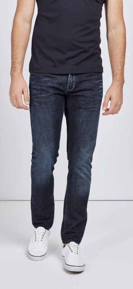 Mish Mash Franz Dark Straight Fit Jean    rrp  | Die erste Reihe von umfassenden Spezifikationen für Kunden  b566e1