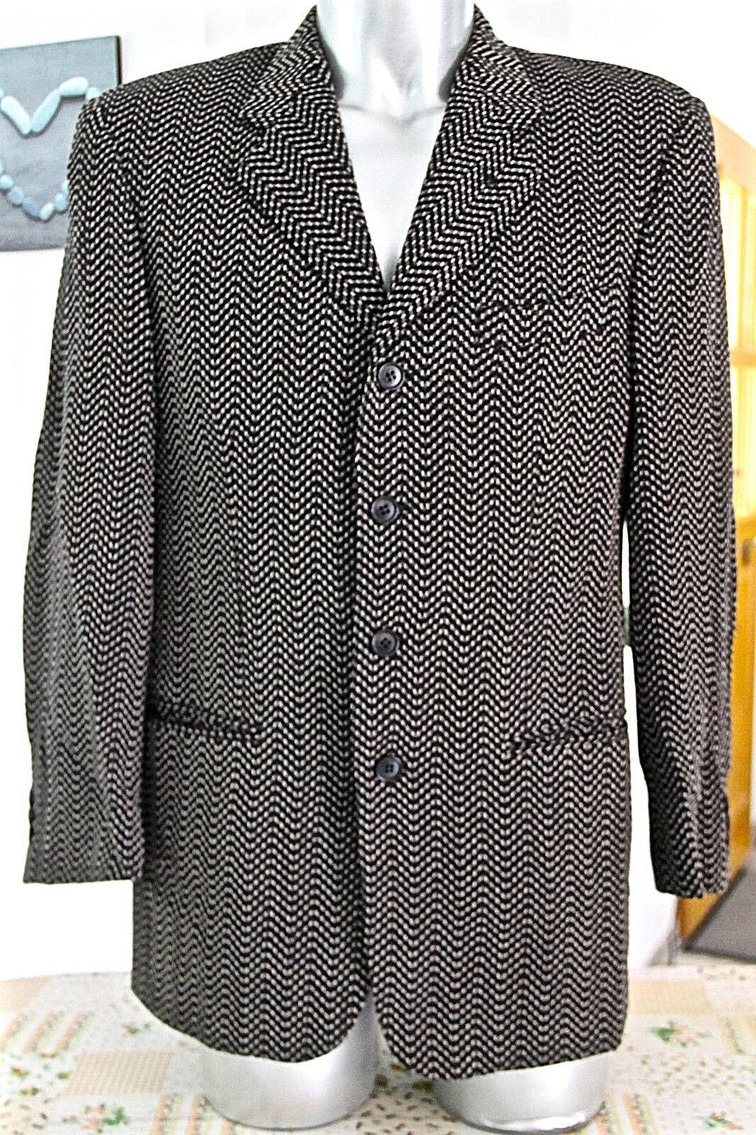 Luxueuse veste bcbg chevrons hiver homme CERRUTI 1881 size 48 (L) COMME NEUVE