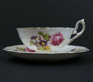 Woodlands-Tea-Cup-amp-Saucer-Set-Fine-Bone-China-Made-in-England
