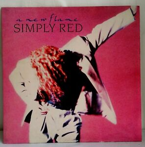 DISCO-IN-VINILE-33-GIRI-LP-SIMPLY-RED-A-NEW-FLAME-1989-WEA