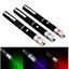 3X Red+Green+Blue Purple Laser Pointer Pen Visible Beam Light Lazer Pet Cat Toy