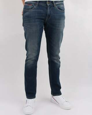Sportschuhe 868eb a4265 Tommy Hilfiger Dynamic Stretch Slim Scanton Jeans - Dark ...