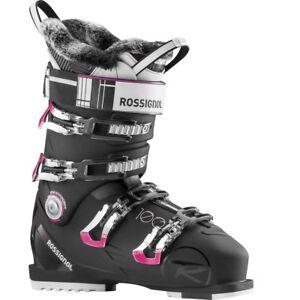 2016-Rossignol-Pure-Pro-100-Black-White-Size-25-5-Women-039-s-Ski-Boots
