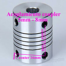 Shaft Coupling Coupler 5mm To 8mm for Nema 17 Reprap CNC 3D Printer Prusa Mendel