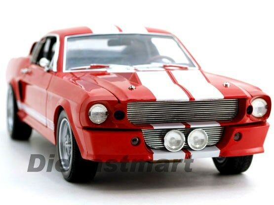 SHELBY COLLECTIBLES 1 18 1967 1967 1967 SHELBY GT500E ELEANOR RED DIECAST MODEL DC500E03 9a033d