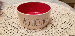 NEW-Rae-Dunn-Holiday-Pet-Bowl-HO-HO-HO-NEW