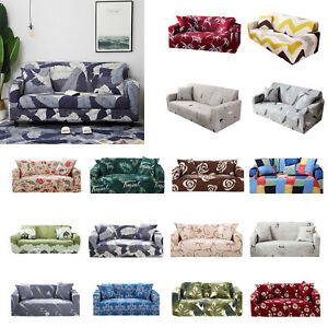 Stretch-Couch-Sofa-Lounge-Covers-Recliner-1-2-3-4-Seater-Chair-Cover-Xmas-Decor