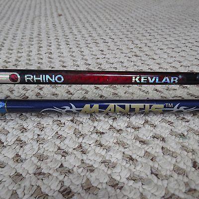 Rhino Kevlar fishing rod and Shakespeare Mantis fishing rod (lot#3755)