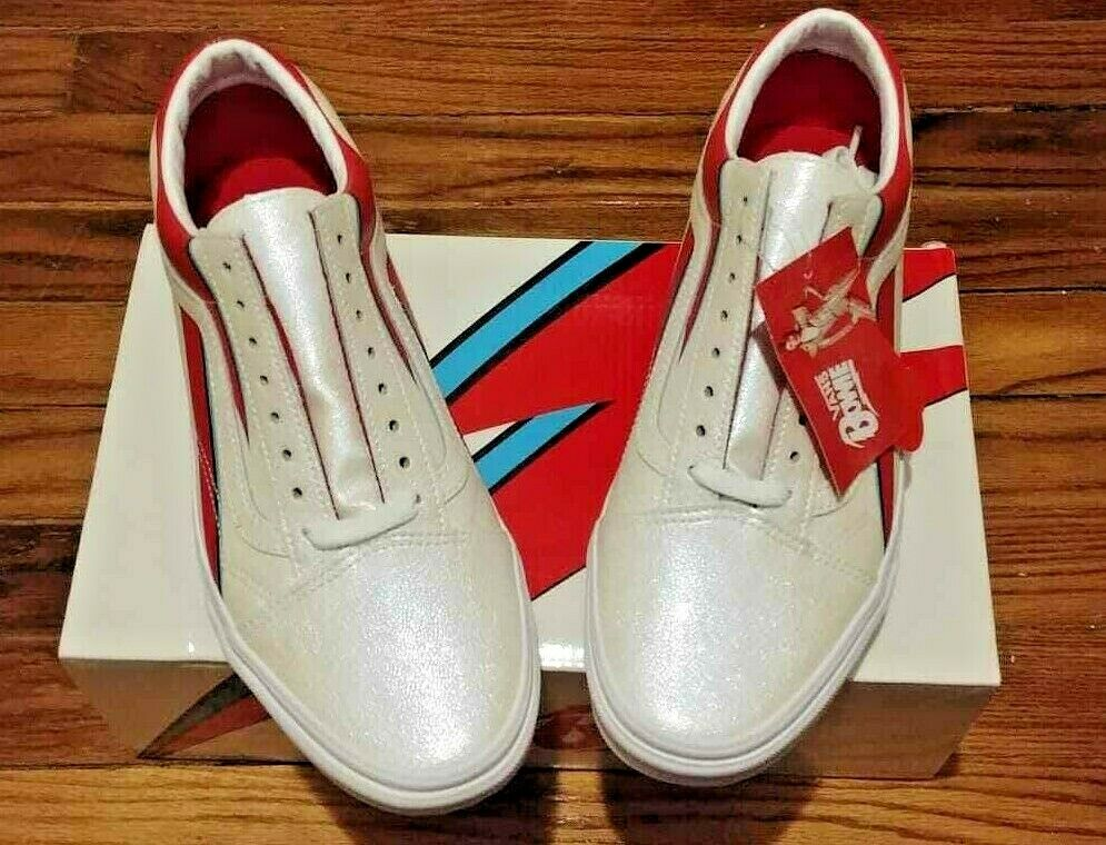 Vans X David Bowie Oldskool Men's Size  US 9