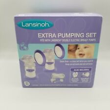 Lansinoh Extra Breast Pumping Set BPA Free and BPS Free