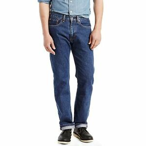 Levis Men's 505-4886 Dark Stonewash Regular Fit Brand New ...