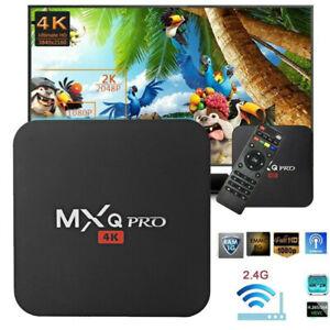 Details about MXQ Pro 4K S905W Quad Core Android 7 1 Smart TV Box HDMI Wifi  TV Media Streamer