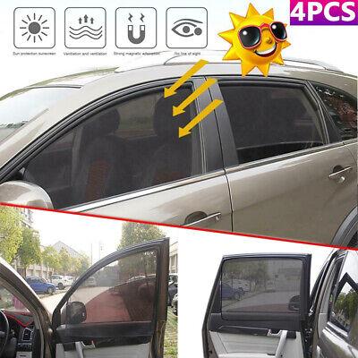 Magnetic Car Side Window Front Passenger Sun Shade Visor Anti-UV Cover Curtain