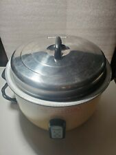 Ricemaster 55 Cup Commercial Grade Rice Cooker 57155 Good Condition
