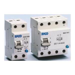 1 x legrand 2p 63a rcd trip sensitivity 100ma din rail mount rh ebay co uk Earth Systems RCD Circuit Breaker