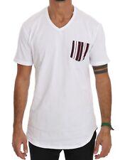 Daniele Alessandrini Shirt Sleeve Neck Crew Cotton Short White T S KTlcJF13