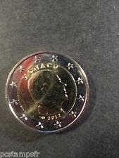 MONACO - pièce de 2 euro 2012, PRINCE ALBERT II, neuve de rouleau