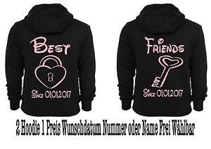 Motiv Partnerlook Best Mit Div Stück 2 Motive Friends Hipster Pullover Hoodie 0wqCTxI7I