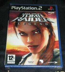 Lara Croft Tomb Raider Legend Ps2 Sealed New Ebay
