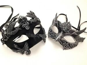 Image is loading Metallic-Masquerade-Ball-Mask-Ste&unk-Gladiator- Terminator-Mask-  sc 1 st  eBay & Metallic Masquerade Ball Mask Steampunk Gladiator Terminator Mask ...