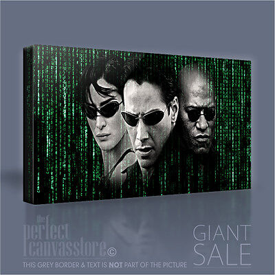 MATRIX NEO AND TRINITY GICLEE CANVAS ART PRINT *Choose your size
