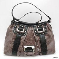 Guess Whistler Large Hobo Shoulder Bag Handbag Satchel Tote Grey