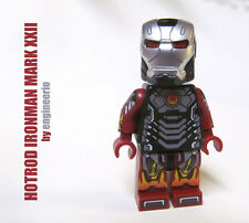 LEGO Custom - Hotrod Ironman - Marvel Super heroes tony stark spiderman mini fig