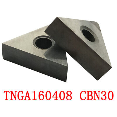 VCGW331 CBN30G  High hardness steel processing 2pcs VCGW160404 CBN30G