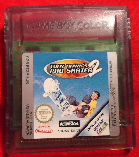 Tony Hawk´s Pro Skater 2 - Tony Hawks - Nintendo Game Boy color / Advance