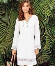 Little White Dress By Mark Avon Crotchet NWT Size 2x