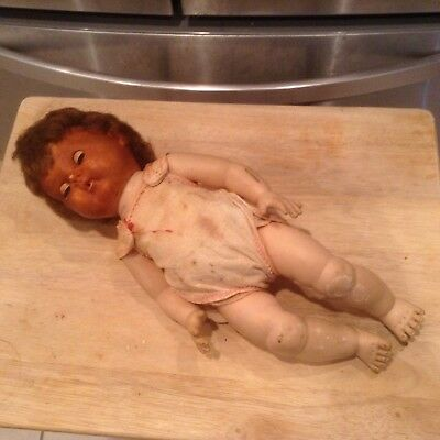 """Objective American Character 16"""" Tiny Tears No Doll Pat 2.675.644"""