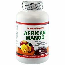 100% Natural African Mango 1200 Extract Weight Loss Diet 180 Caps Made In USA