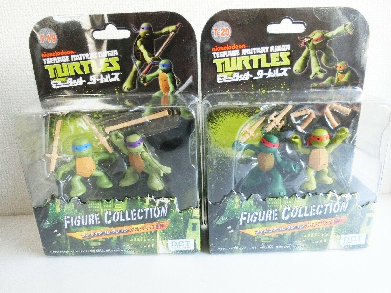 TEENAGE MUTANT NINJA TURTLES Figure Collection Ninjas in training T-19 Japan