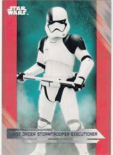 Star Wars Last Jedi Silver 99 Parallel Base Card #52 Captain Edrison Peavey