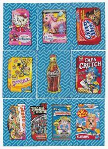 Verzamelingen Niet-sportkaarten 9 2017 Topps Wacky Packages 50th Anniversary Insert Set