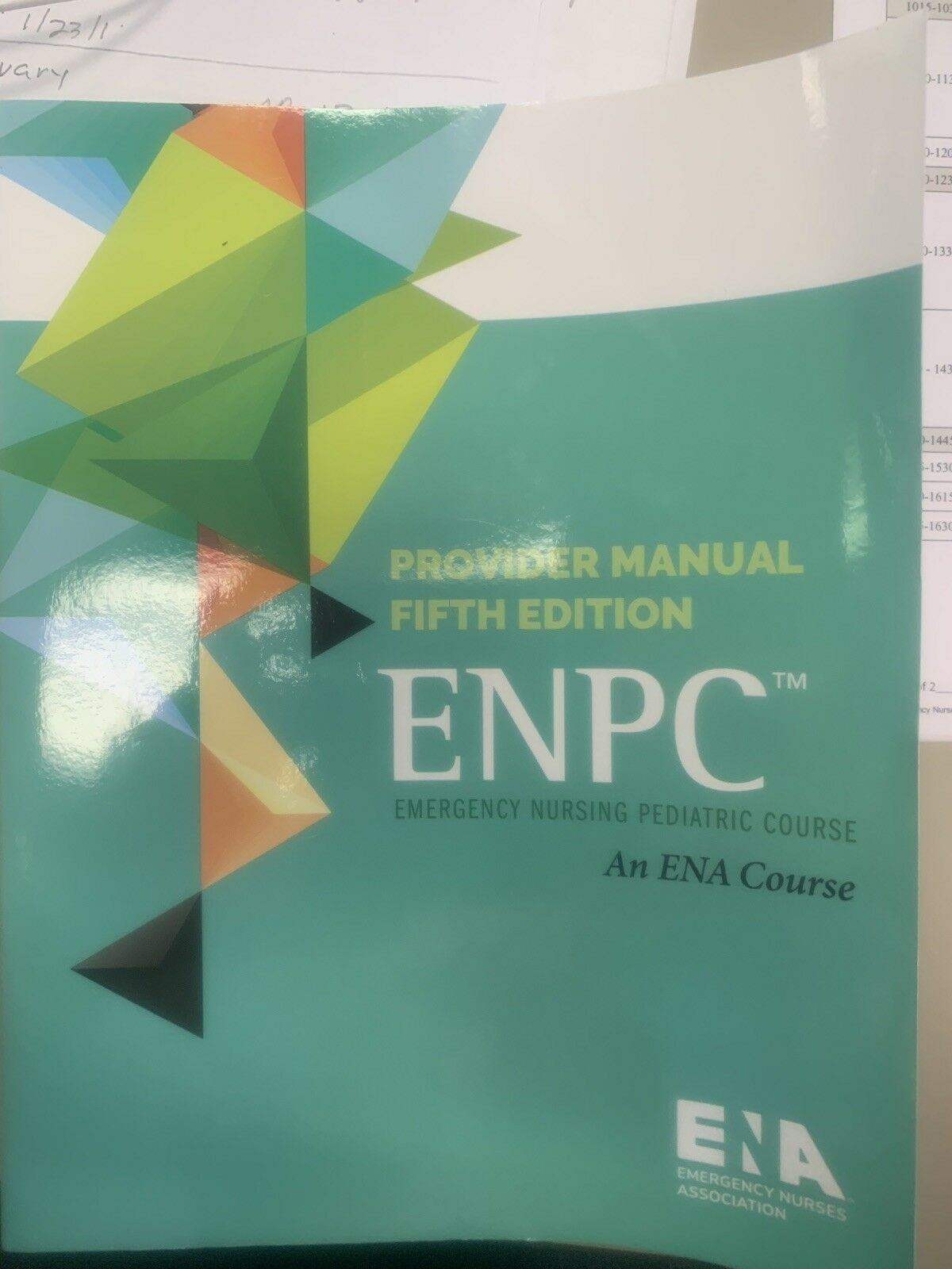 Ena ENPC Provider Manual 5th Edition
