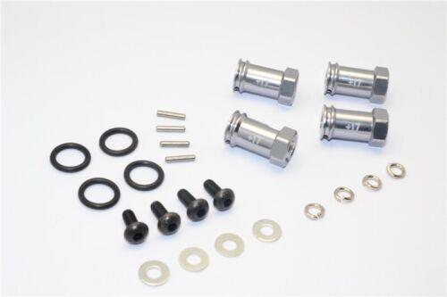 GPM Gun Aluminum 17mm Extension Hubs 12mm Hex Traxxas 4x4 Slash Stampede Rustler
