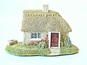 Lilliput-Lane-Daisy-Cottage-Collectable-Vintage-Ornament-With-Deeds