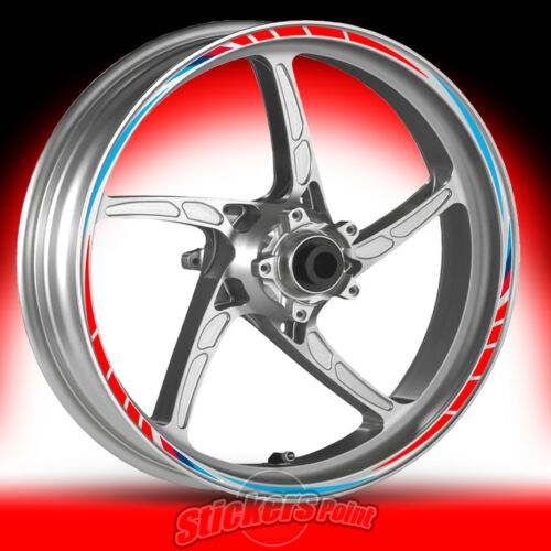 Adesivi moto BMW R1200 GS ADVENTURE RACING4 stickers cerchi ruote wheels