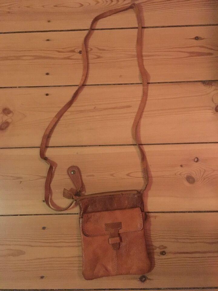 Crossbody, Pieces, læder