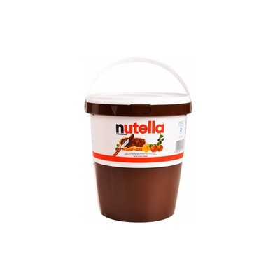 NUTELLA 3Kg Jar Bulk Pail Tub Ferrero Hazelnut Chocolate Cocoa Made in Italy