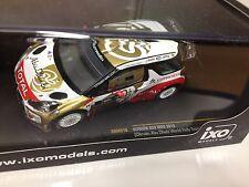 CITROEN DS3 WRC Abu Dhabi 2013 1:43 IXO RALLYE-DIECAST-RAM519