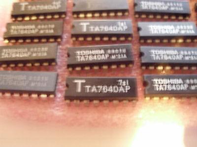 5PCS TA7640AP AM//FM IF PROCESSOR DIP16