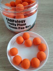 Mistral Fruité Prune Pop-ups 15 Mm échantillon X 10 Appâts-afficher Le Titre D'origine