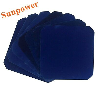 40 Pcs 21% Monocrystalline Sunpower Solar Cell C60 For Flexible Solar Panel