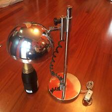 grande lampada table lamp anni 70 acciaio cromato tisch lampe vintage sirrah?