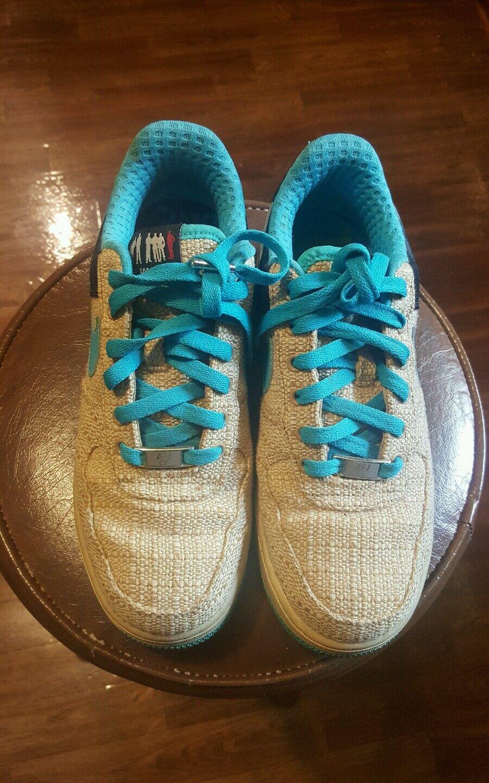 Nike Air Force 1 Premium 07 Thompson Tweed Talla / cloro Azul Baroque Marrón Talla Tweed 6 gran descuento 527edb