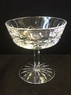 sherbet martini glass Waterford Colleen saucer champagne