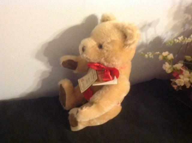 Vtg Heruomon Teddy Original No-No  orso orso orso Mohair 12 Jointed fatto in West Geruomoy 0fd40d